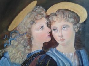 2014-05-05 - Hommage à Léonard de Vinci - Extrait : 2 anges d'après le Baptême du Christ (1472)